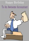 Accountant - Greeting Card